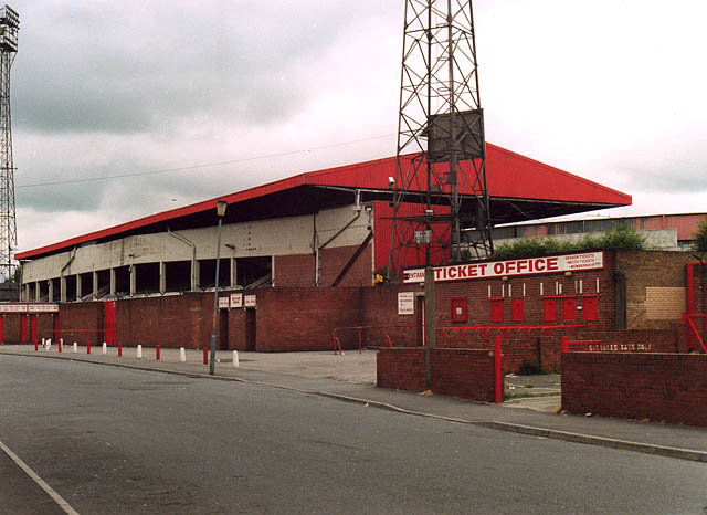 East Stand, Ayresome Park