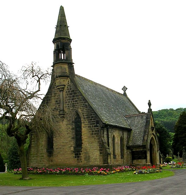 One of the Cemetery Chapels at Bingley Cemetery