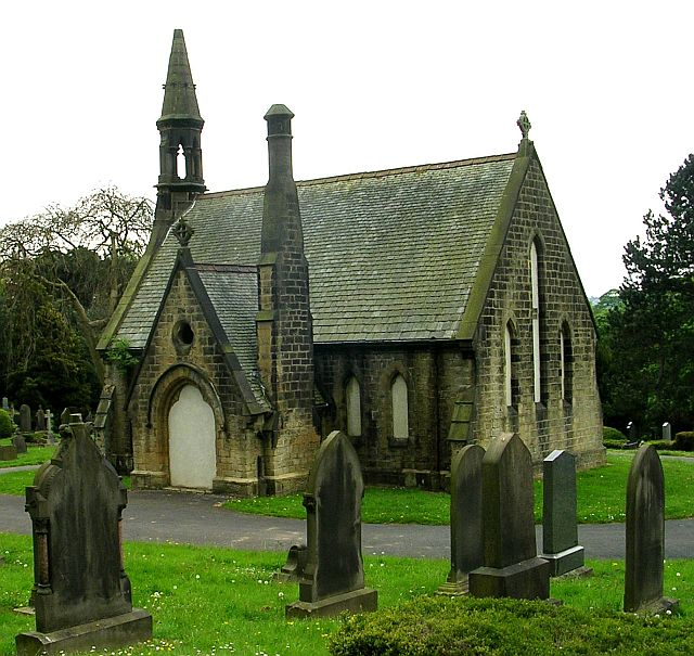 Disused Chapel at Bingley Cemetery