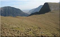 SH6261 : Bwlch y Brecan and Foel Goch by Eric Jones