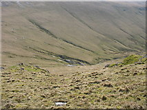 SH6261 : The headwaters of Afon Dudodyn from Bwlch y Brecan by Eric Jones