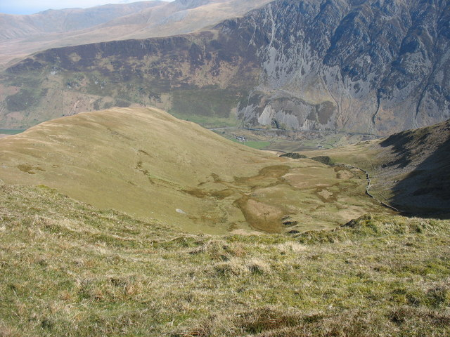 Cwm Bual - a hanging valley