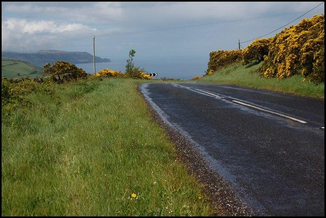 The Feystown Road near Glenarm