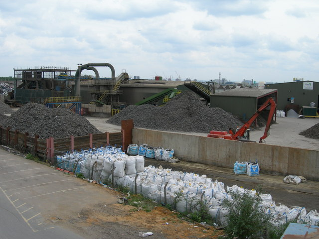 Metal Recycling Works near Willesden Junction