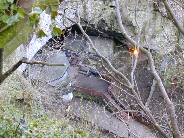 Entrance to Peak Cavern