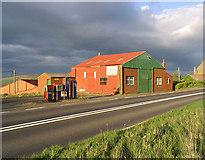NT9629 : Workshop building at Bendor by Walter Baxter