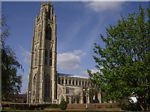 TF3244 : Boston Stump from the Police Station by Graham Horn