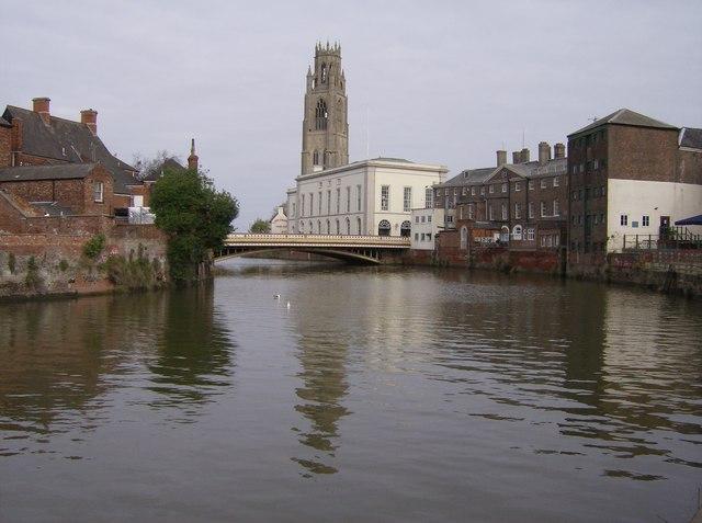 River Haven below Town Bridge