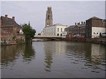 TF3243 : River Haven below Town Bridge by Graham Horn