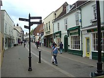 TM2749 : The Thoroughfare, Woodbridge by Claire Haystead