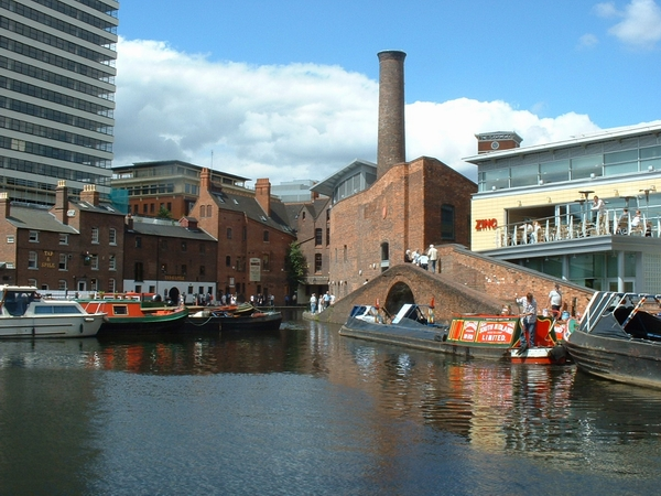 Exit from Gas Street Basin