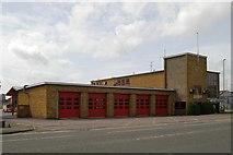 SU1584 : Swindon Fire Station by Kevin Hale