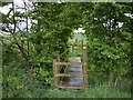 SJ7249 : Footbridge and Stile by Ian Bottomley