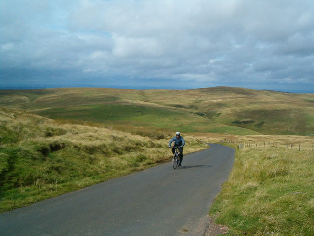 A steep ride up Camels Path.
