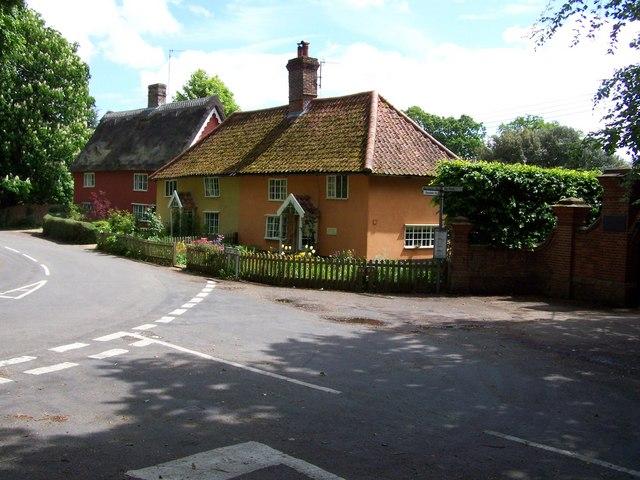 Cottages at Darsham, Suffolk