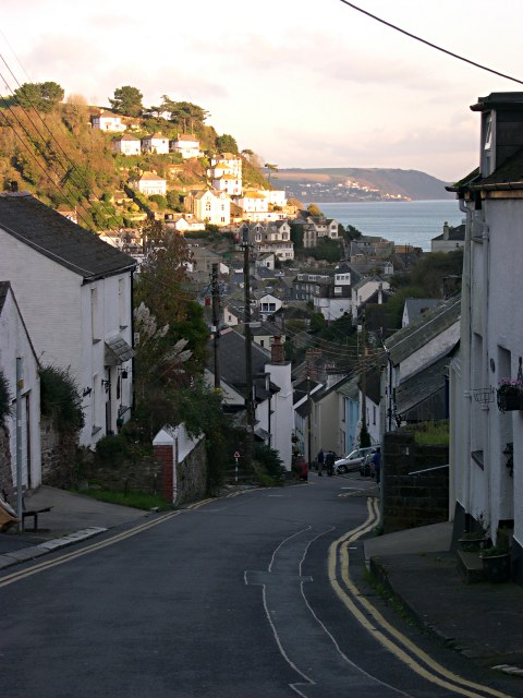 Downhill to West Looe