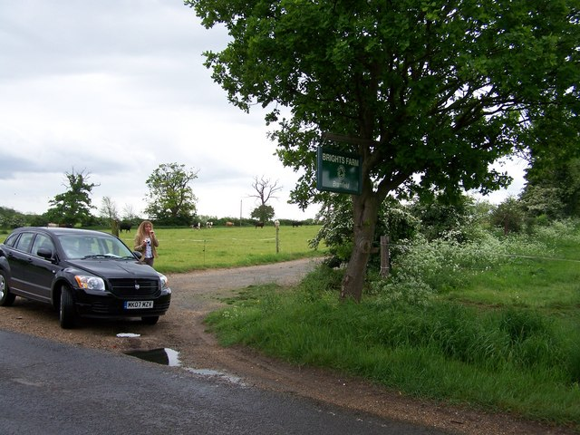 Bright's Farm entrance, Bramfield