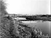 ST9160 : Seend Park Swing Bridge II by Dr Neil Clifton