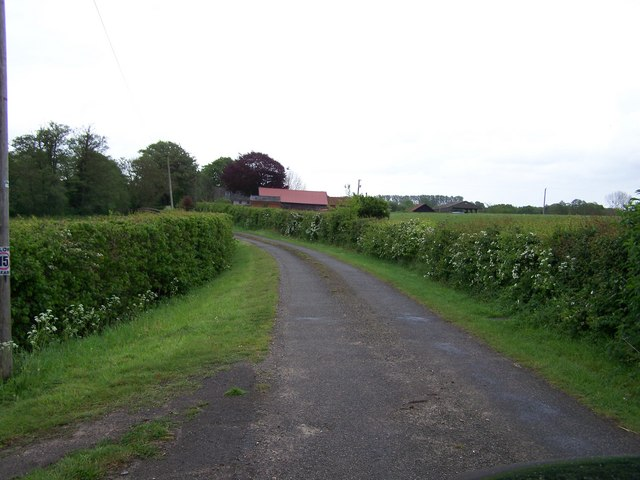 View towards Watermill Farm