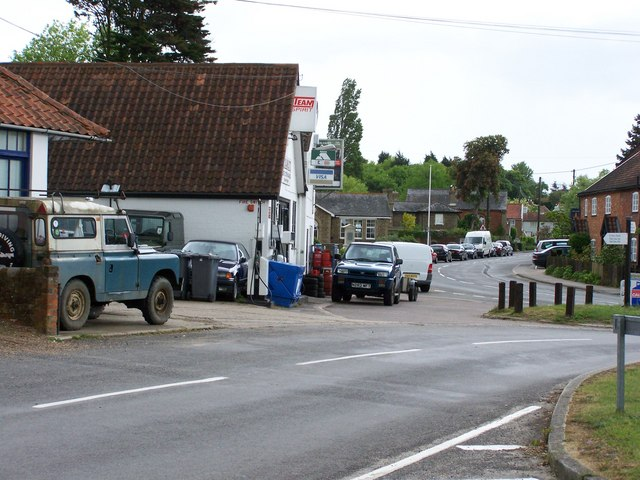 View of Westleton village, suffolk