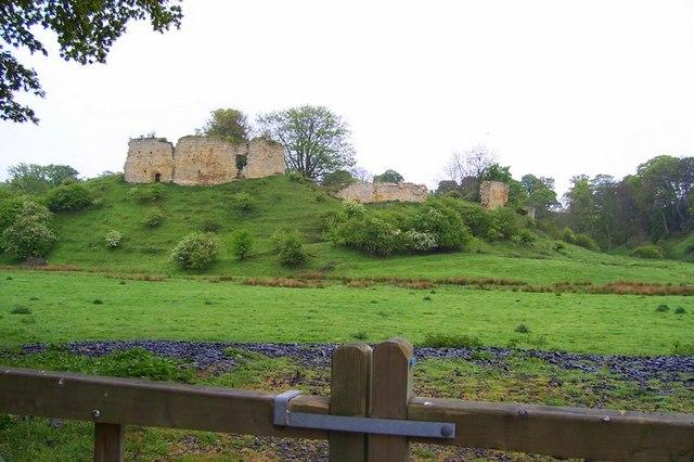 Mitford Castle Ruins