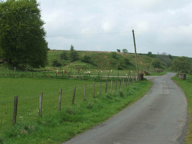 Garlaffan Farm Entrance.