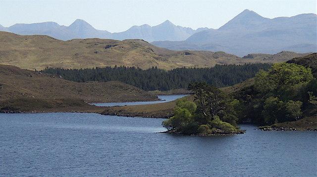 Crannog at Loch Kernsary