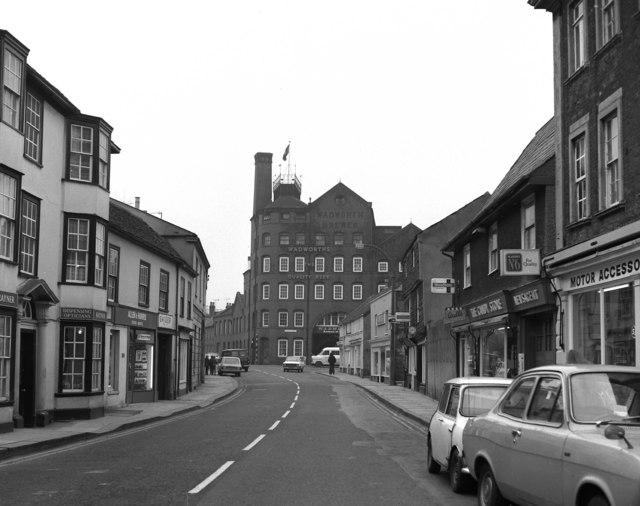 Wadworth's Brewery, Devizes, Wiltshire