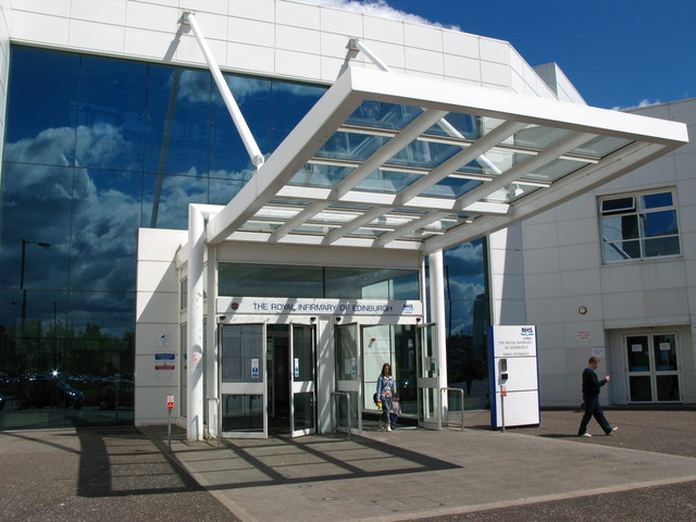 Main Entrance, Edinburgh Royal Infirmary