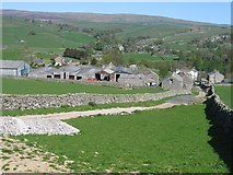 SD8167 : Little Stainforth from the Path to Feizor by John S Turner