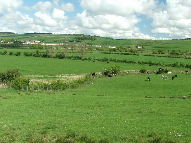 Looking across the Upper Nith Valley.