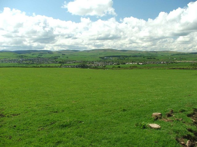 View to New Cumnock