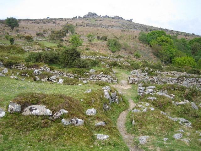Dartmoor: Hound Tor deserted medieval village
