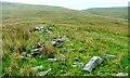 SD8996 : Ruined Wall, Near Greenseat Beck by Mick Garratt