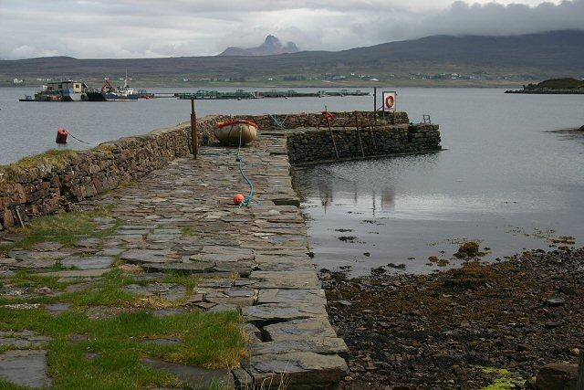 Old harbour, Tanera Mòr