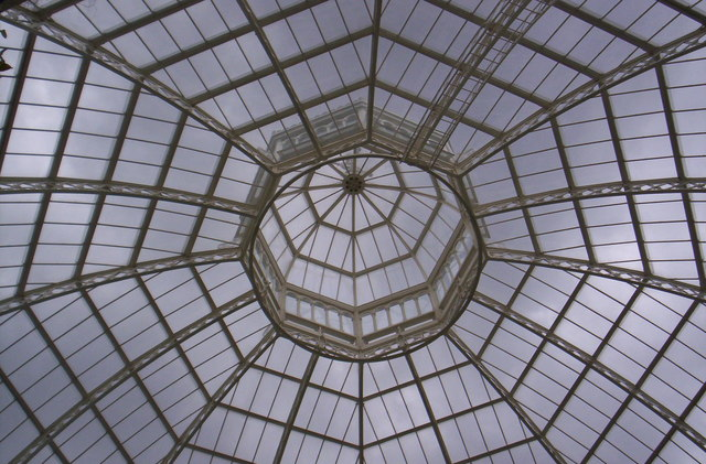 Palm House roof, Sefton Park