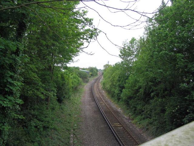Railway line in Dorchester