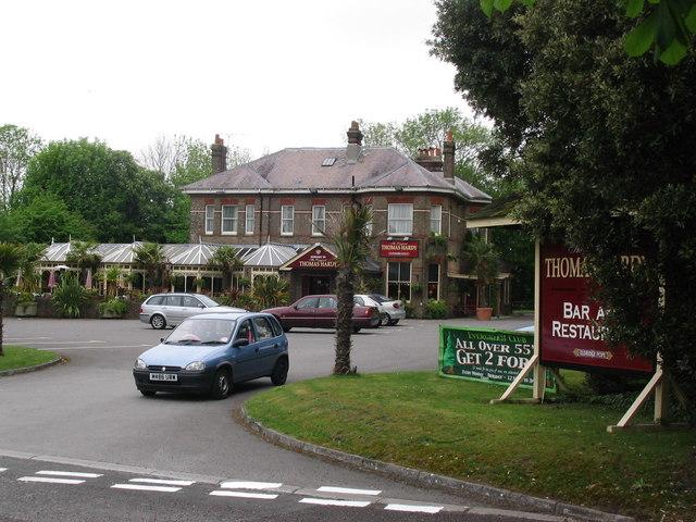 Thomas Hardy bar and restaurant, Dorchester