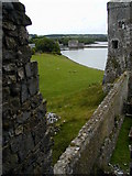 SN0403 : Carew mill viewed from the castle by Chris Gunns