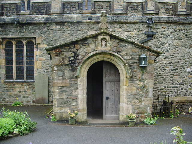 Porch,The Parish Church of St Andrew, Sedbergh