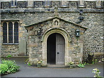 SD6592 : Porch,The Parish Church of St Andrew, Sedbergh by Alexander P Kapp