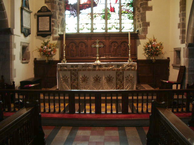 Interior of The Parish Church of St Andrew, Sedbergh