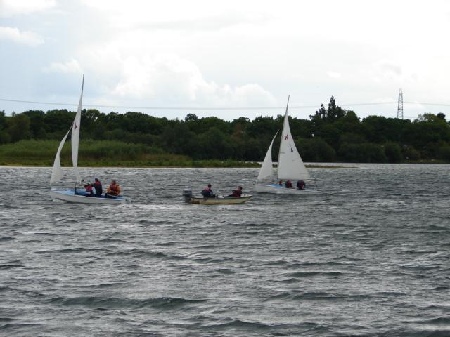 Sailing at North Hykeham Sailing Club