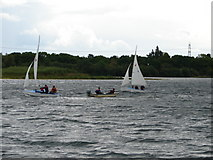 SK9266 : Sailing at North Hykeham Sailing Club by Ian Paterson