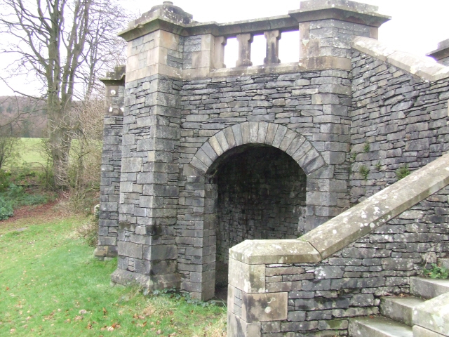 Remains of Grizedale Hall