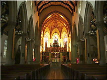 SD4861 : Interior of St Peter's Cathedral, Lancaster by Alexander P Kapp
