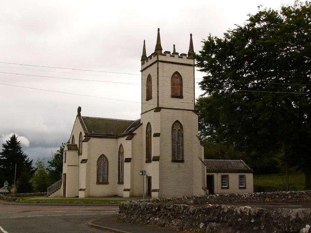 Kirkcowan Church from the north