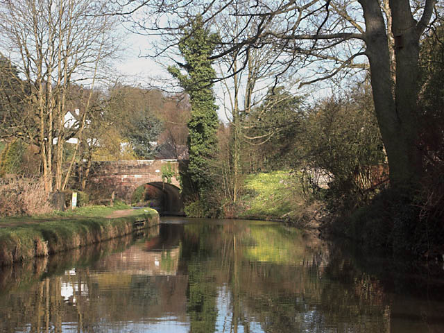 Horse Bridge on the Leek Arm of the Caldon Canal