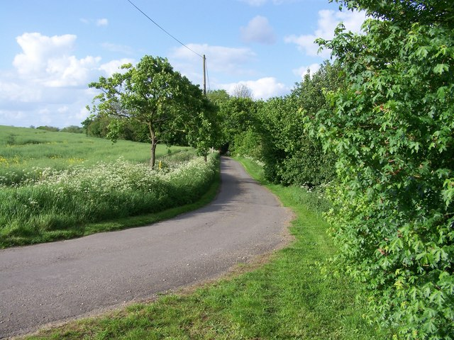 View north towards Hillhouse Farm