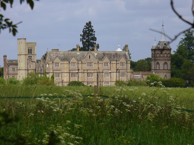 Horsley Towers over the Meadow
